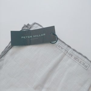 Peter Millar Linen Pocket Square